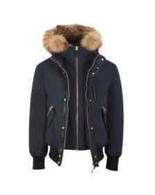 Mackage Mens Blue Dixon-X Hooded Jacket