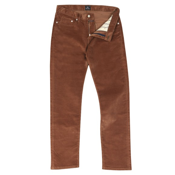 PS Paul Smith Mens Brown Tapered Cord Jean main image