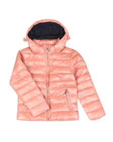 Pyrenex Girls Pink Spoutnic Shiny Jacket