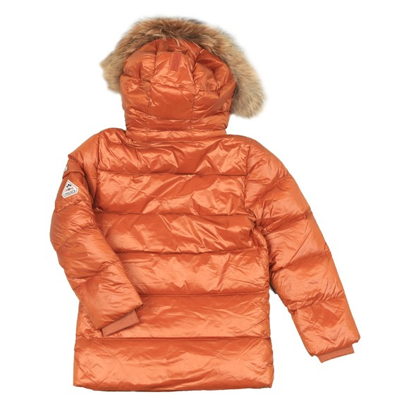 Pyrenex Girls Brown Authentic Jacket With Fur main image