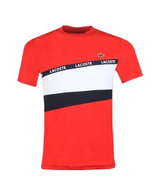 Lacoste Sport Mens Red TH8427 T-Shirt