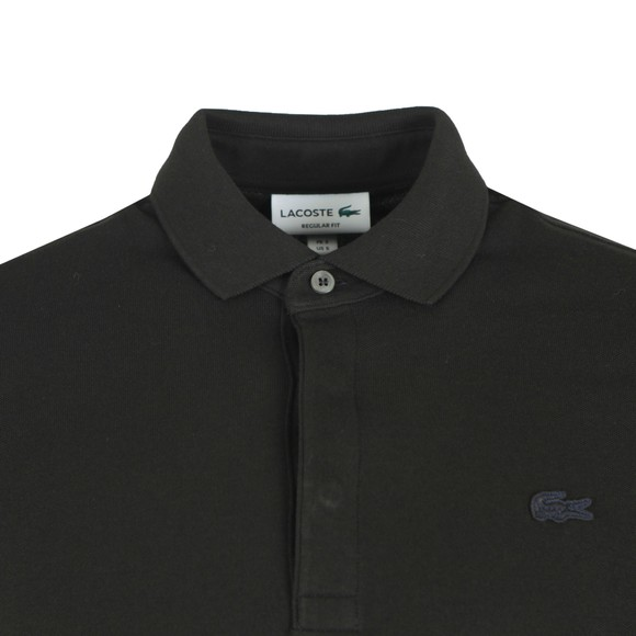 Lacoste Mens Black L/S Paris Polo main image