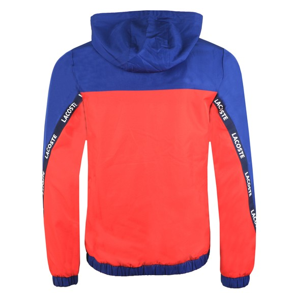 Lacoste Sport Mens Blue Full Zip Hooded Blouson main image