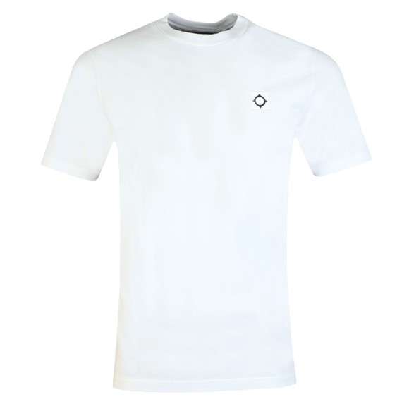 Ma.Strum Mens White Icon T-Shirt