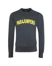 Parajumpers Mens Black Caleb Logo Sweatshirt