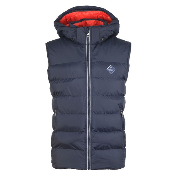 Gant Mens Blue The Active Cloud Vest main image