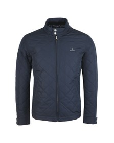 Gant Mens Blue The Quilted Windcheater