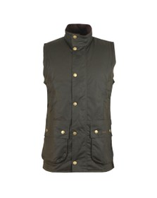 Barbour Sporting  Mens Green Westmorland Wax Waistcoat
