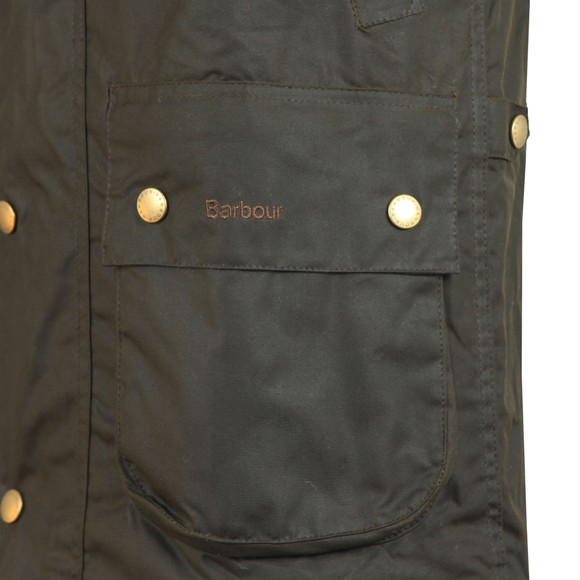 Barbour Sporting  Mens Green Westmorland Wax Waistcoat main image