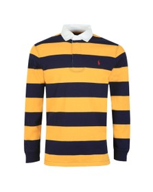 Polo Ralph Lauren Mens Blue The Iconic Rugby Shirt