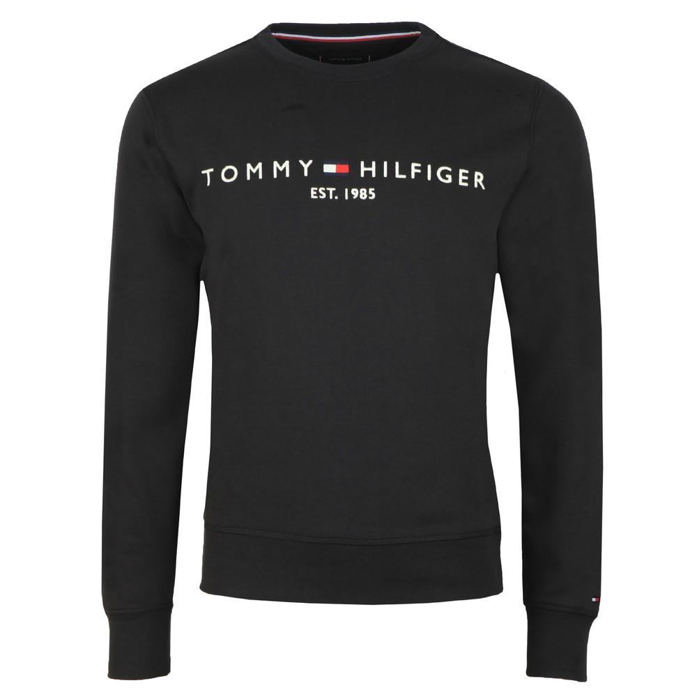 Mens Black Logo Sweatshirt