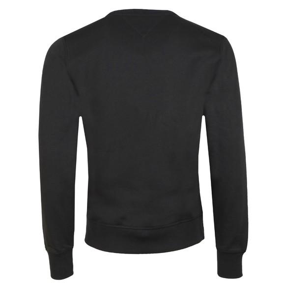 Tommy Hilfiger Mens Black Logo Sweatshirt main image
