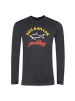Large Chest Logo Long Sleeve T Shirt
