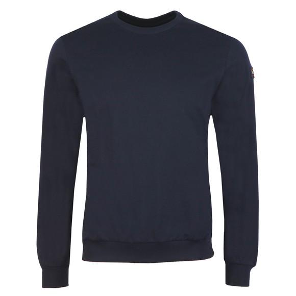 Paul & Shark Mens Blue Crew Neck Sweatshirt