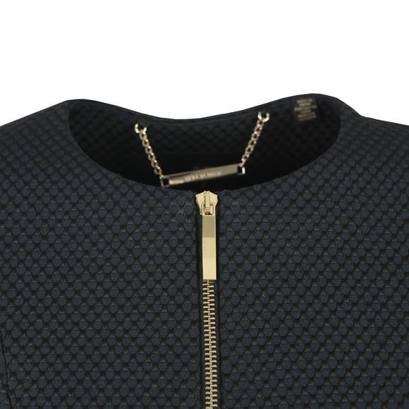 Ted Baker Womens Black Laj Textured Cropped Jacket main image