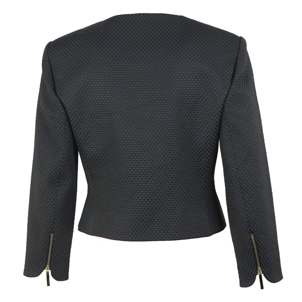 Laj Textured Cropped Jacket main image