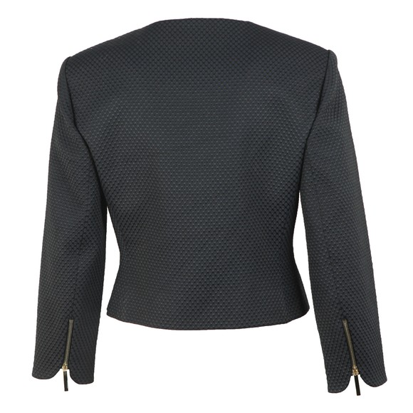 Ted Baker Womens Black Laj Textured Cropped Jacket main image