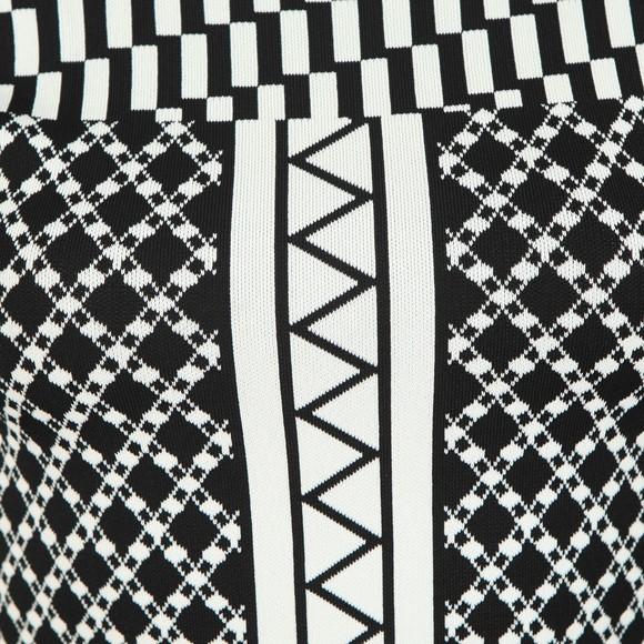 Ted Baker Womens Black Aggigi Tulip Skirted Dress main image