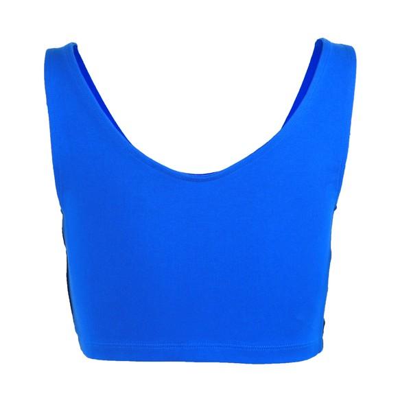 adidas Originals Womens Blue SC Cropped Tank main image