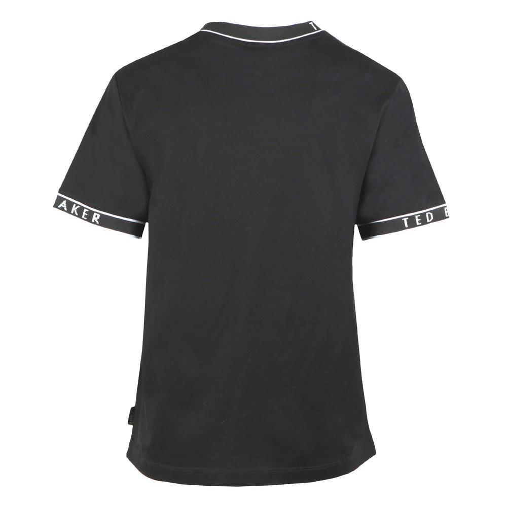 Renyaz Branded Ribbed T-Shirt main image