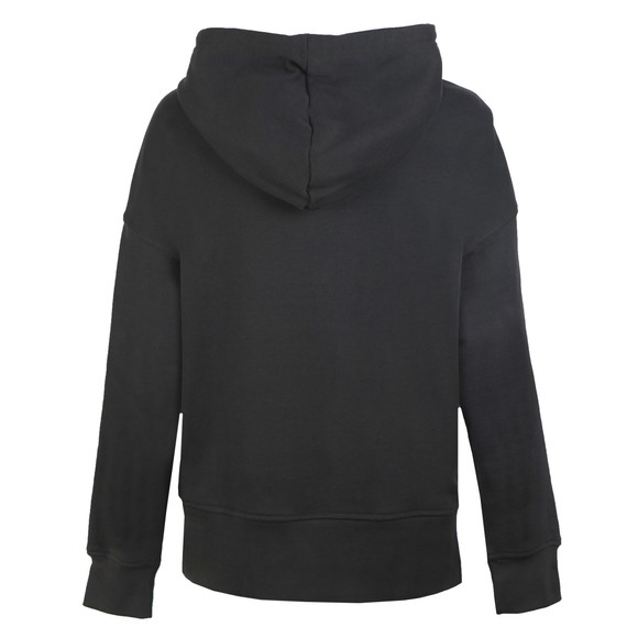 adidas Originals Womens Black Chest Logo Hoodie main image