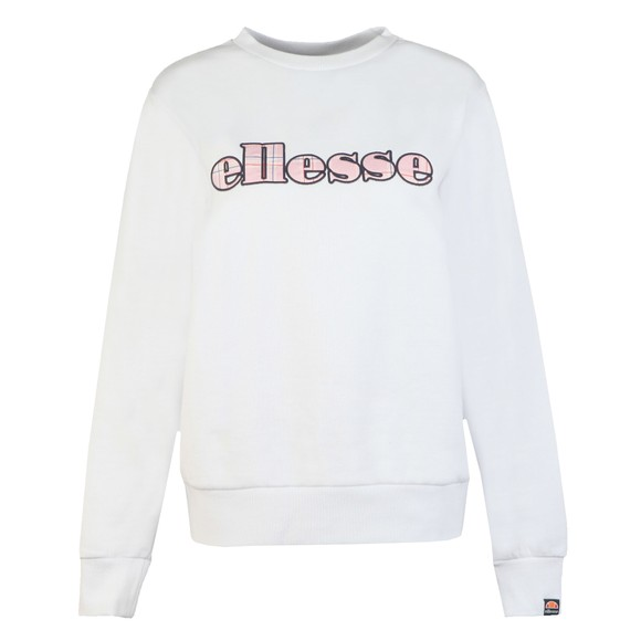 Ellesse Womens White Chiodo Sweatshirt main image