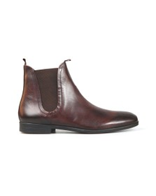 H By Hudson Mens Brown Atherstone Leather Boot