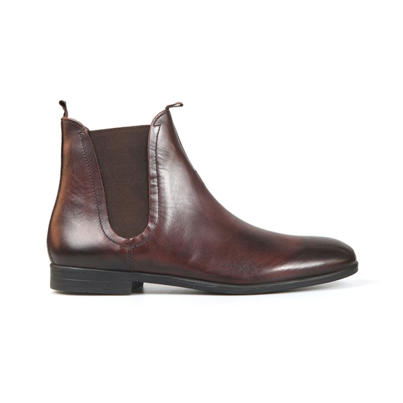 H By Hudson Mens Brown Atherstone Leather Boot main image