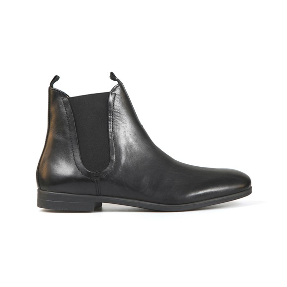H By Hudson Mens Black Atherstone Leather Boot