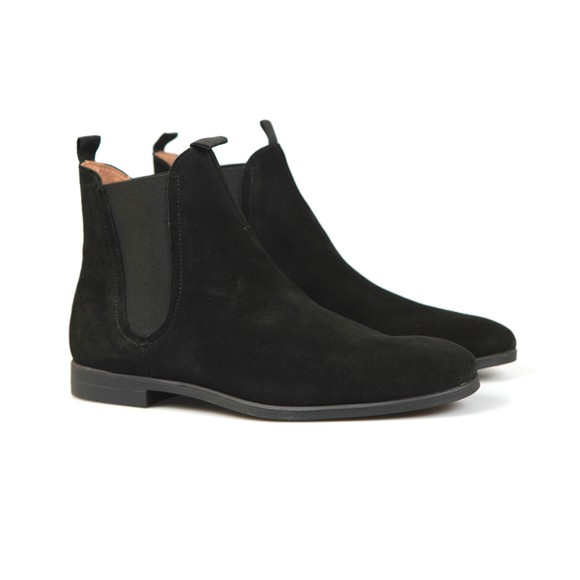 H By Hudson Mens Black Atherstone Suede Boot main image