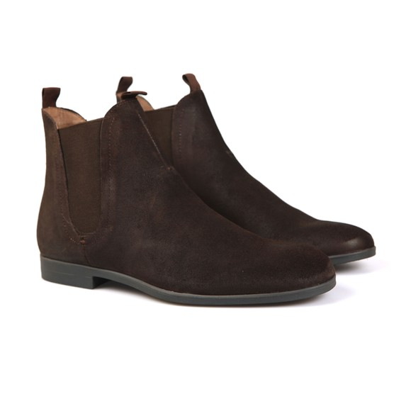 H By Hudson Mens Brown Atherstone Suede Boot main image