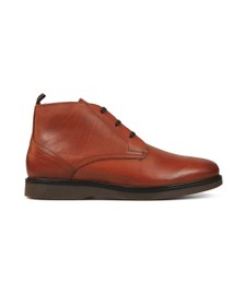 H By Hudson Mens Brown Calverston Chukka Boot