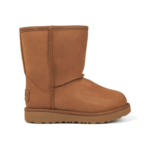 Ugg Girls Brown Classic Waterproof Short Boot main image
