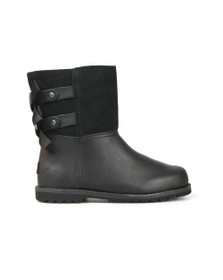 Ugg Girls Black Tara Double Bow Boot