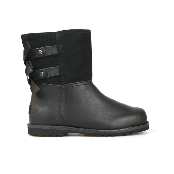 Ugg Girls Black Tara Double Bow Boot