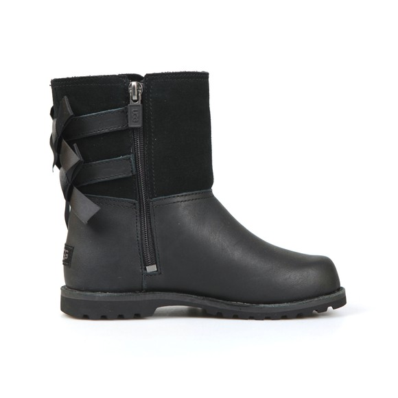 Ugg Girls Black Tara Double Bow Boot main image