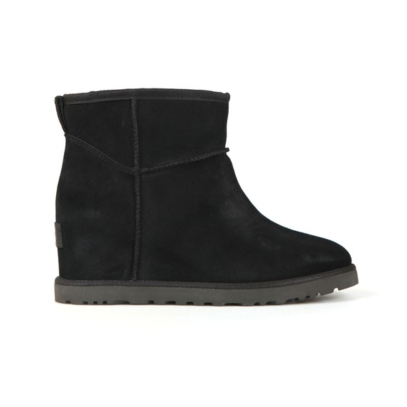 Ugg Womens Black Classic Femme Mini Boot