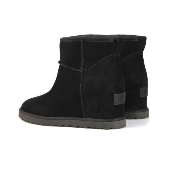 Ugg Womens Black Classic Femme Mini Boot main image