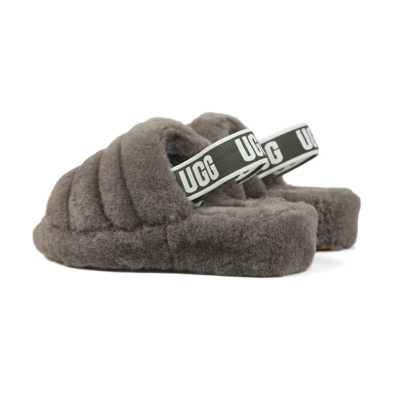 Ugg Womens Grey Fluff Yeah Slide main image