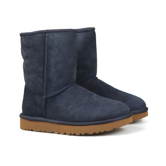 Ugg Womens Blue Classic Short II Boot