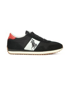 Polo Ralph Lauren Mens Black Train 90 PP Trainer
