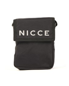 Nicce Mens Black Tefa Cross Body Bag