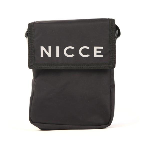 Nicce Mens Black Tefa Cross Body Bag
