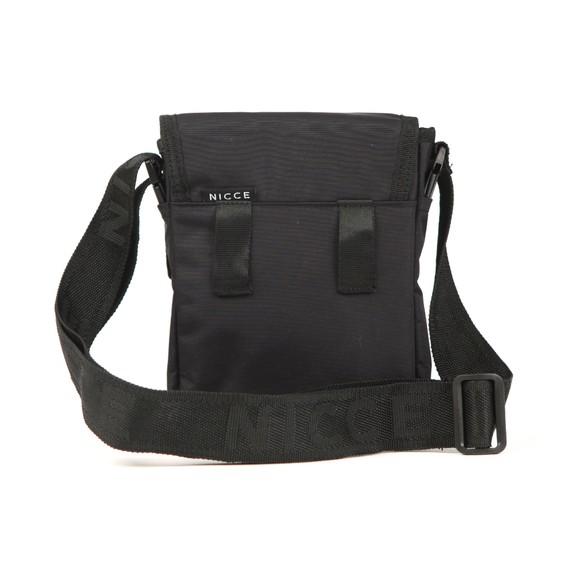 Nicce Mens Black Tefa Cross Body Bag main image