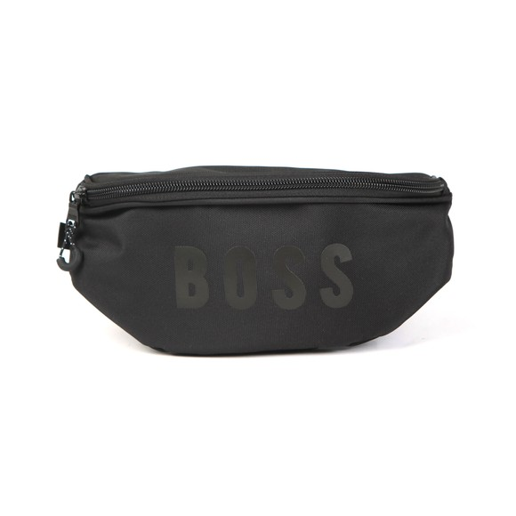 BOSS Boys Black Boys Tape Logo Waist Bag