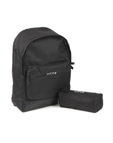 Nicce Mens Black Andel Backpack