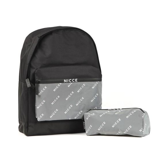 Nicce Mens Black Tendel Backpack main image