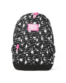 Superdry Womens Black Print Edition Colour Change Montana Backpack