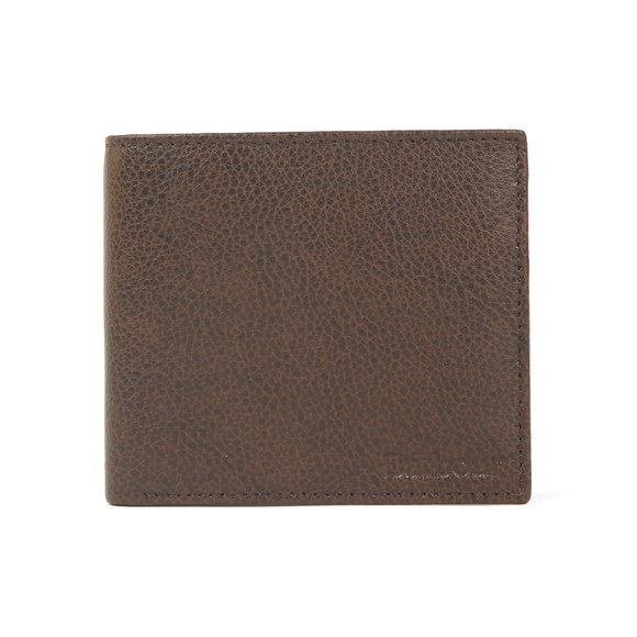 Barbour Lifestyle Mens Brown Peterlee Billfold Coin Wallet main image