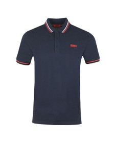 HUGO Mens Blue Daruso 194 Polo Shirt